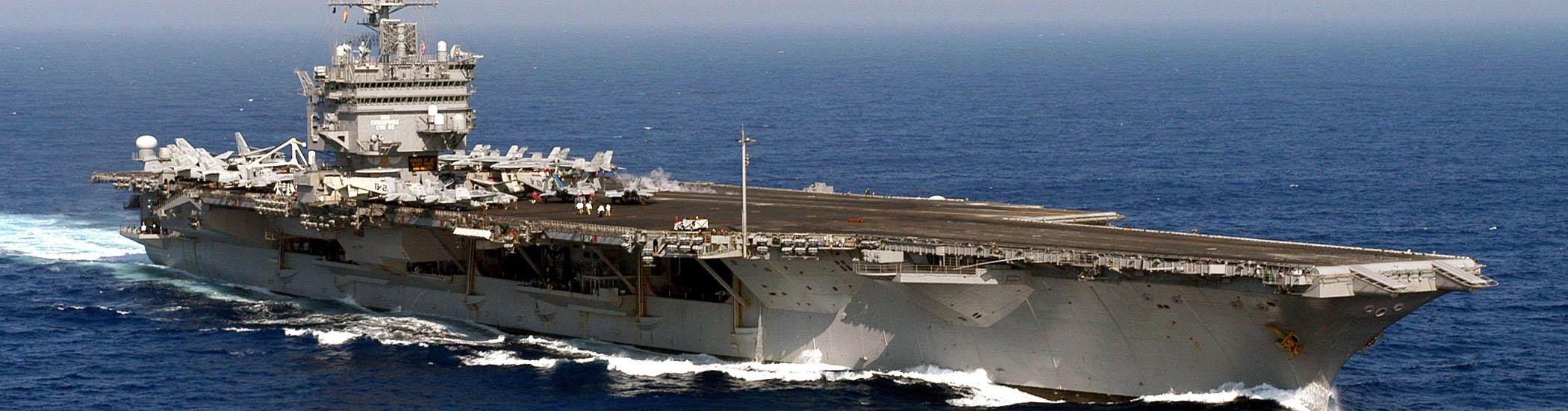 Enterprise at sea